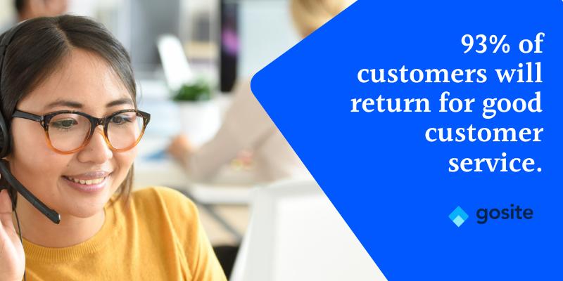 customer service & loyalty statistic