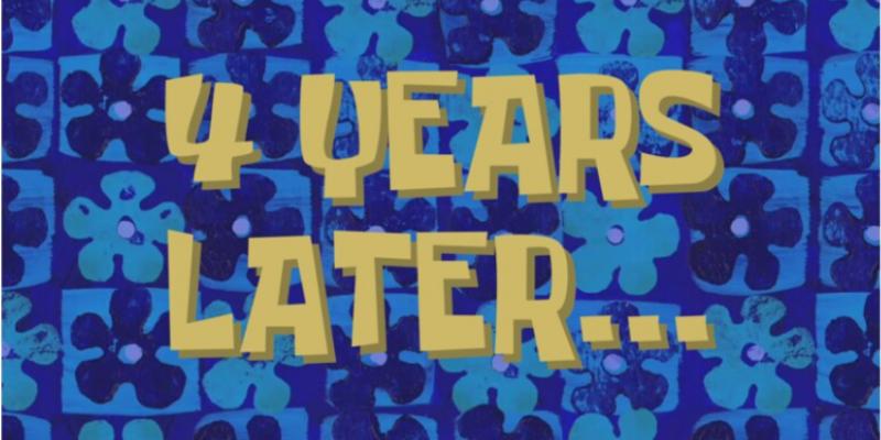 4 years later spongebob meme