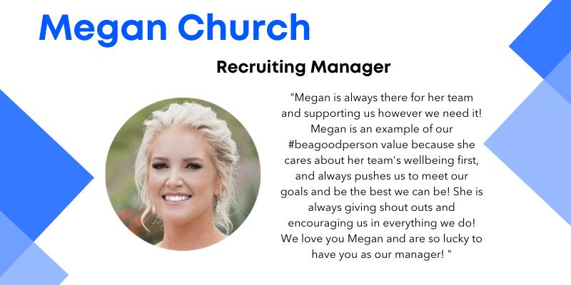 Megan Church recruiting manager