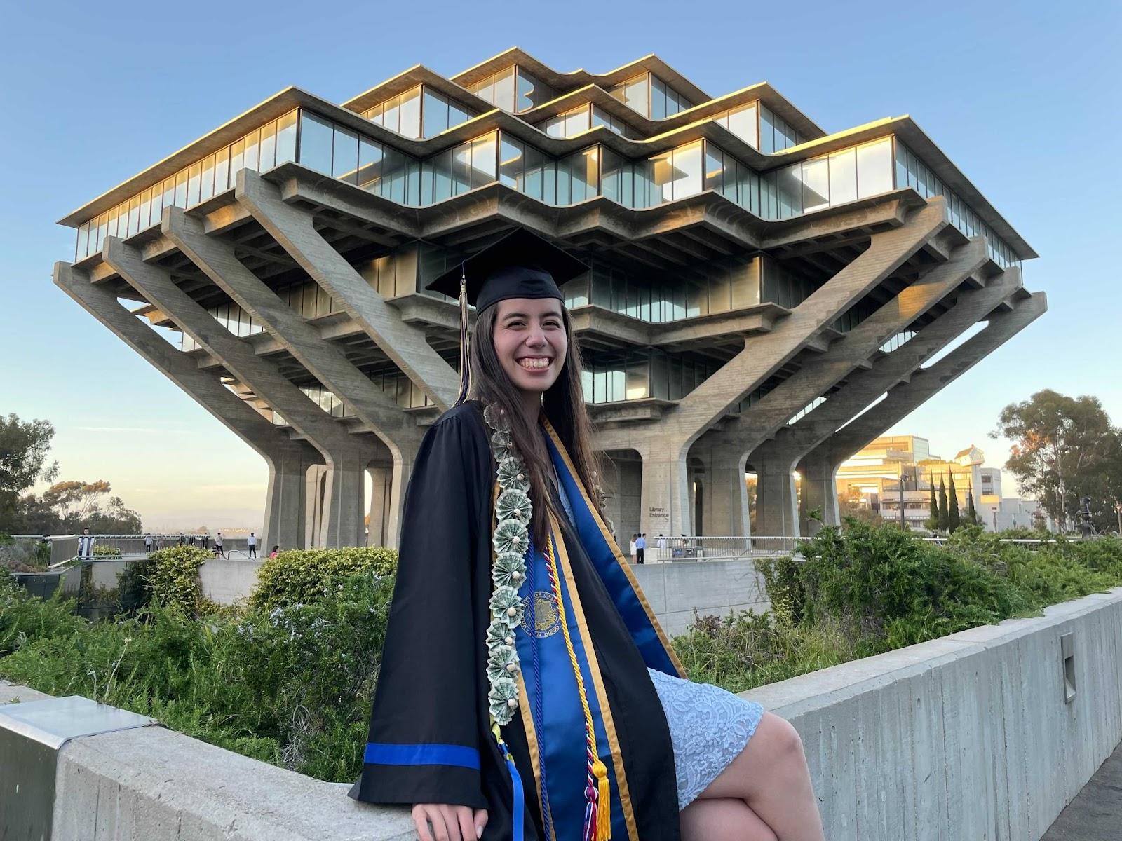 girl at UCSD